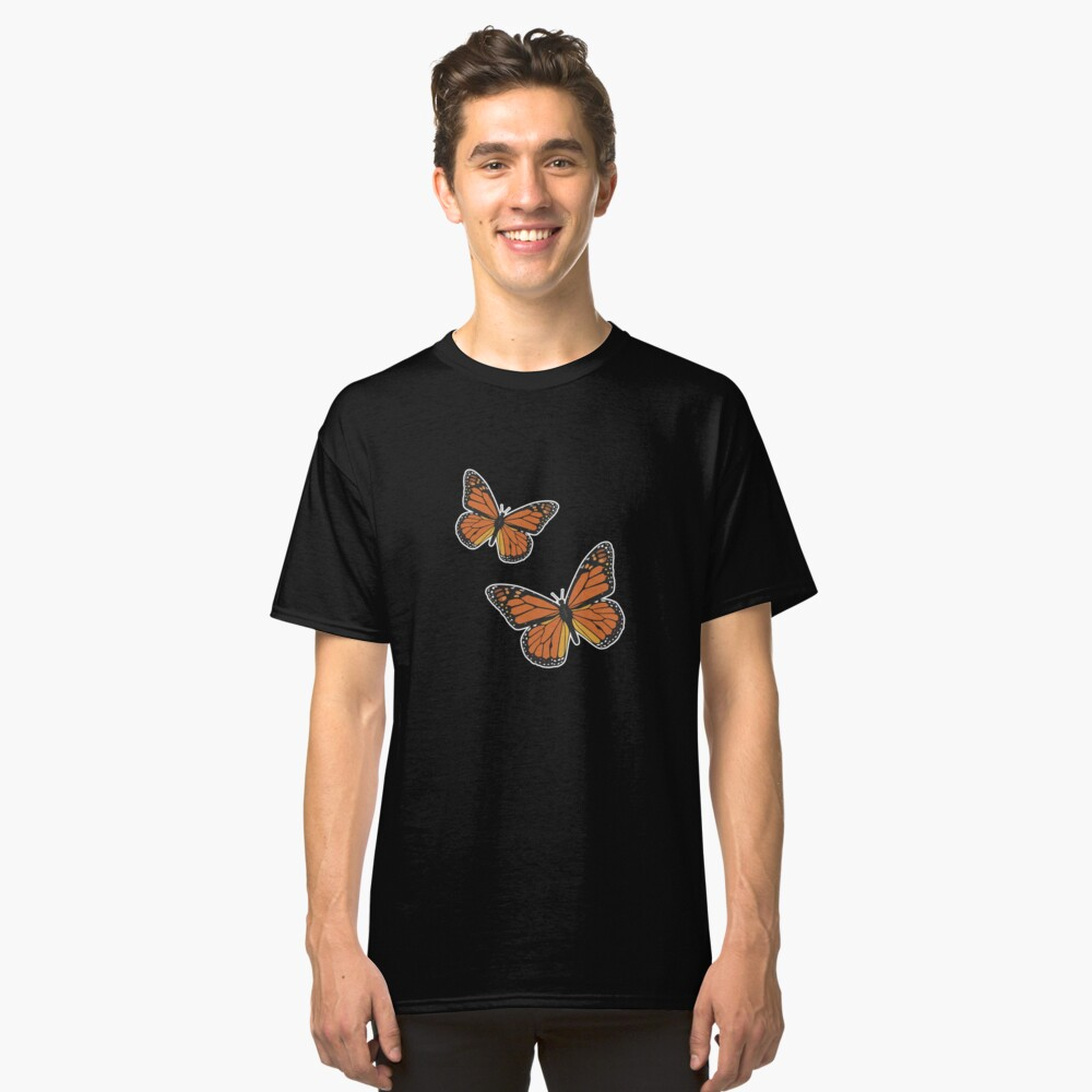 Butterfly Shirt | Butterfly Shirts | Butterfly Shirts For Women | Butterfly T Shirt | Butterfly Tshirt | Butterfly Top | Monarch Butterfly Shirt Classic T-Shirt Front