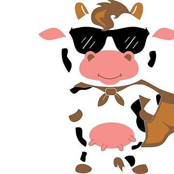 Cool Cow Tee  by FOUNDationYOU
