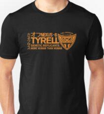 Tyrell - Nexus 6 Orange Unisex T-Shirt
