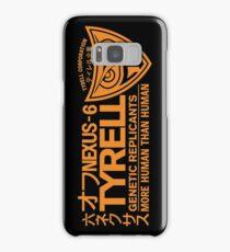 Tyrell - Nexus 6 Orange Samsung Galaxy Case/Skin