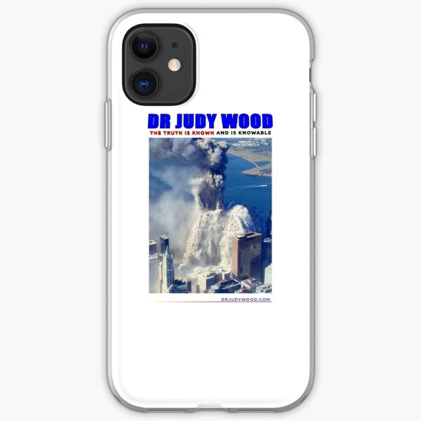 """Dr Judy Wood - """"BUBBLER"""" - The Truth is Known and Knowable (CONTRIBUTOR PRICE) iPhone Soft Case"""