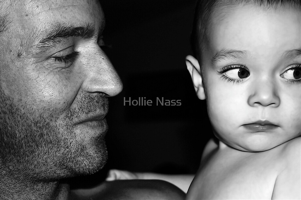Father & son by Hollie Nass