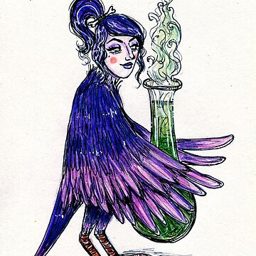 Witch Bird Girl by lyle23