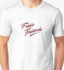 Fickle Friends - Pink/Salmon Unisex T-Shirt