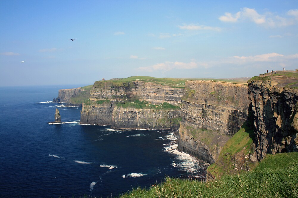 Cliffs of Moher view 1 by John Quinn
