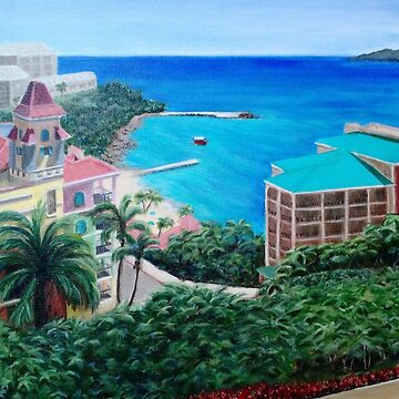 Island Beauty by ArtbyDedeConrad