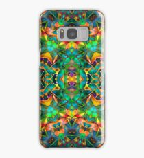Fractal Floral Abstract G87 Samsung Galaxy Case/Skin