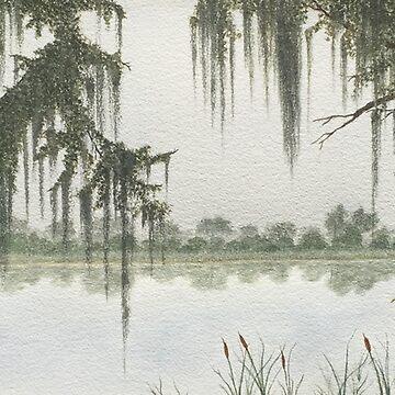 Magnolia Plantation by ArtbyDedeConrad