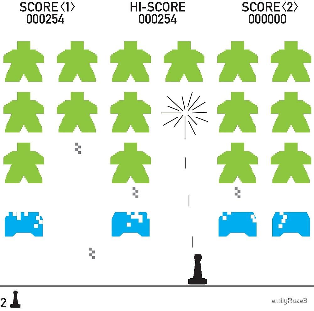 Meeple Invaders by emilyRose3