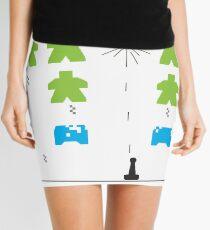 Meeple Invaders Mini Skirt