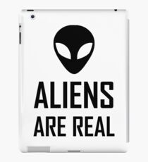Aliens Are Real Science Fiction iPad Case/Skin