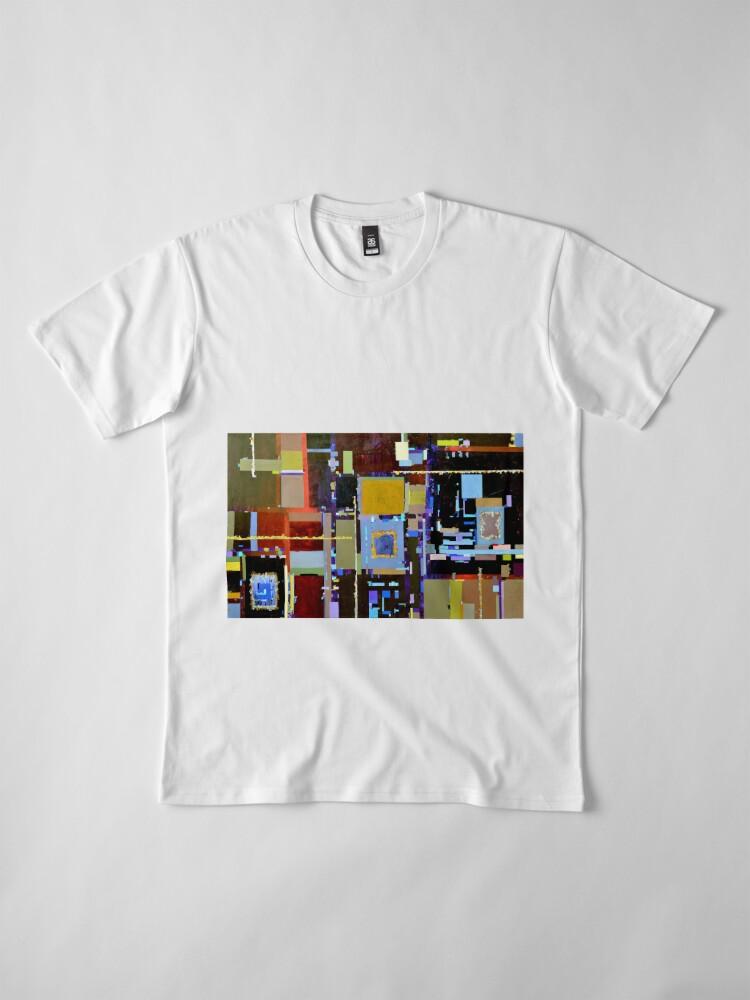 Alternate view of Convergences of Innovation Premium T-Shirt