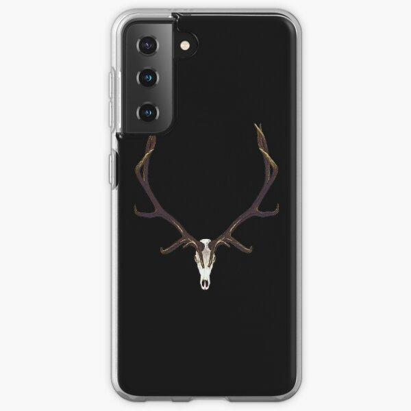 Bull elk skull European mount Samsung Galaxy Soft Case