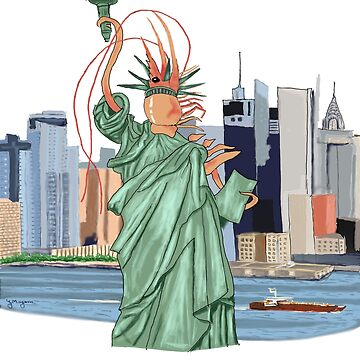 Once a Prawn a Time in New York by Gmagennis