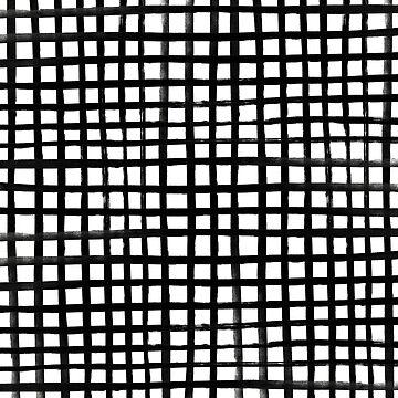 Hand-painted Grid by adventurlings