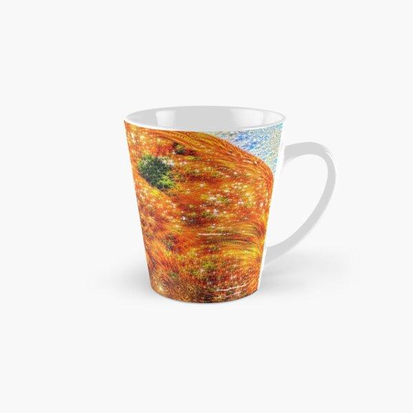 #DeepDreamed Frozen Orange Tall Mug