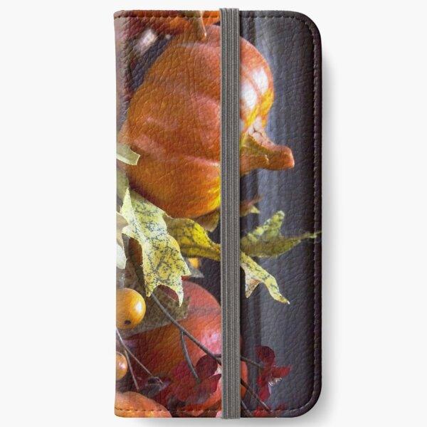Autumn Wreath iPhone Wallet