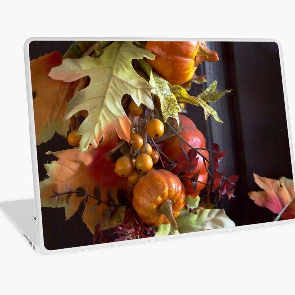 Autumn Wreath Laptop Skin