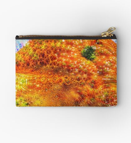 #DeepDreamed Frozen Orange Studio Pouch