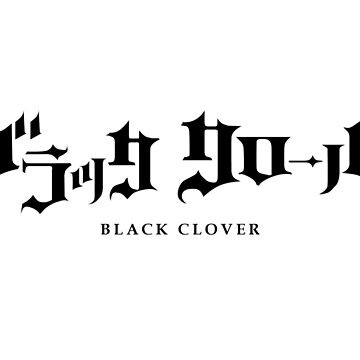 Black Clover by turtlezx3