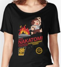 Super Nakatomi Tower Women's Relaxed Fit T-Shirt