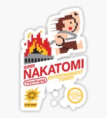 Super Nakatomi Tower Sticker