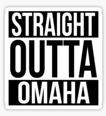 Straight Outta Omaha Sticker