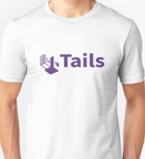 tails linux distribution T-Shirt