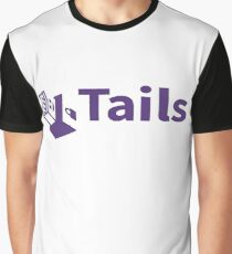 tails linux distribution Graphic T-Shirt