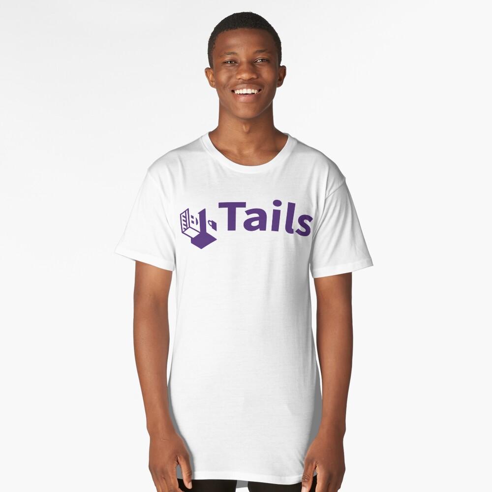 tails linux distribution Long T-Shirt Front