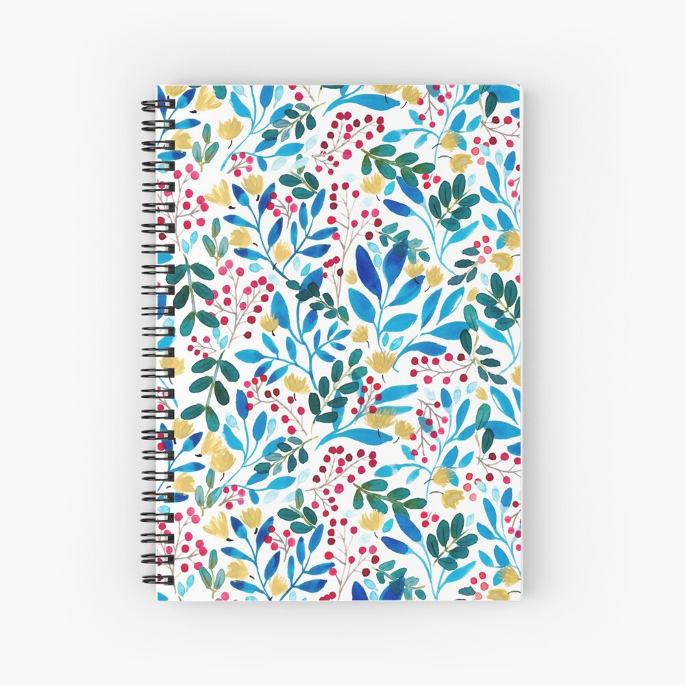 Fall Flavors Spiral Notebook