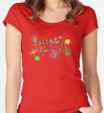 Greendale Community College - Paintball Women's Fitted Scoop T-Shirt