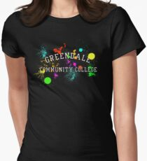 Greendale Community College - Paintball Women's Fitted T-Shirt