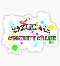 Greendale Community College - Paintball Sticker