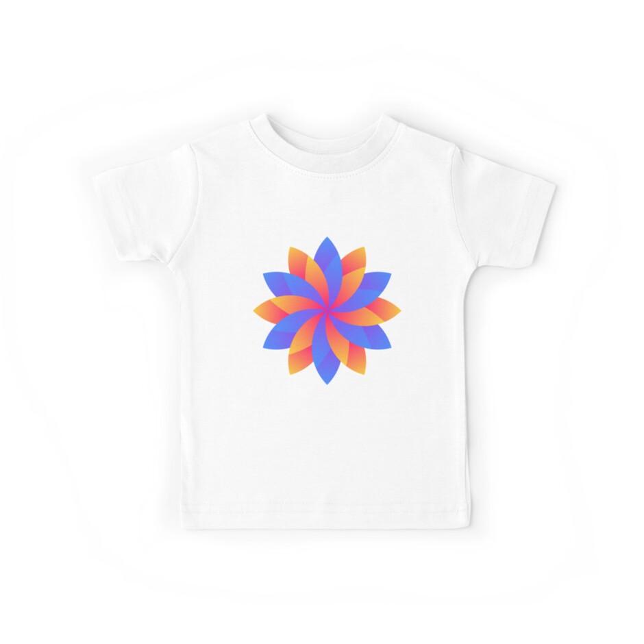 Flower leaf logo design by lunartsstore