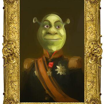 Colonel Shrek by daoustdraws