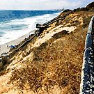 Cliff View, Ponto Beach, Carlsbad, CA, USA by Rhonda Strickland