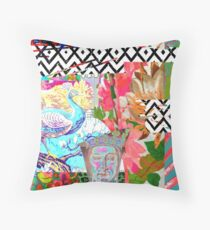 Tracy Porter / Roxy Attic: Rogue Royal Red Throw Pillow