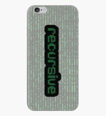 Recursive Case iPhone Case
