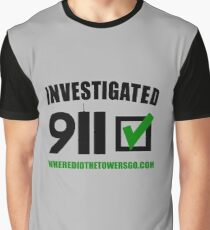 911 Investigated (CONTRIBUTOR PRICE) Graphic T-Shirt