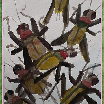 Crickets by NANCYMAUERMAN