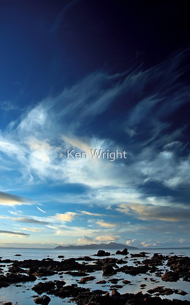 Pukerua True Blue by Ken Wright