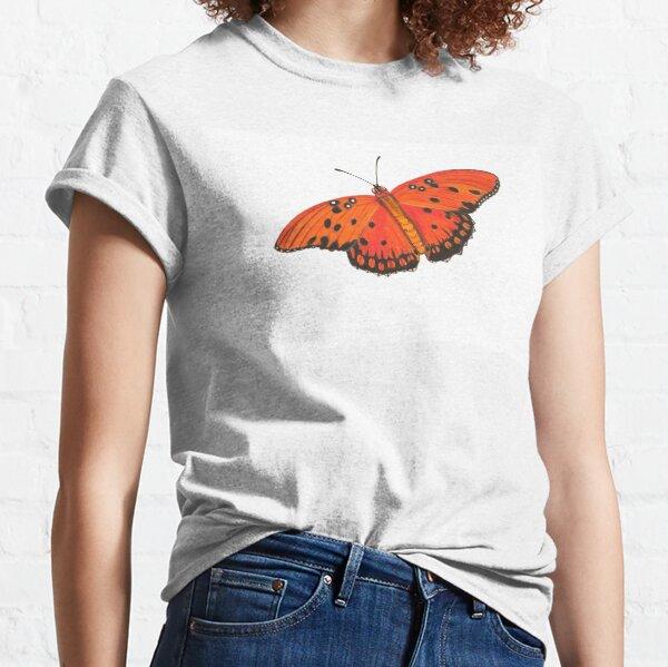 Gulf Fritillary Butterfly Classic T-Shirt