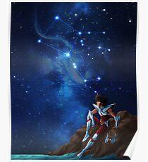 Pegasus - Saint Seiya Artwork Poster