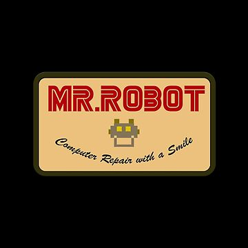 Mr. Robot shirt tag by LadyCyprus