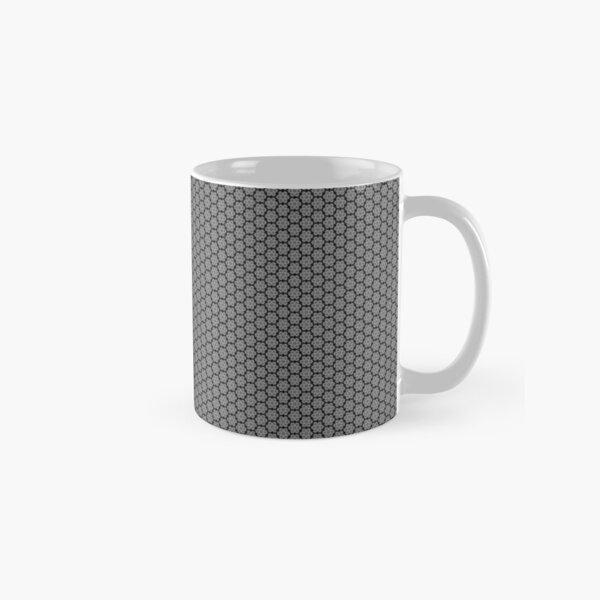 Motif noir et gris Mug classique