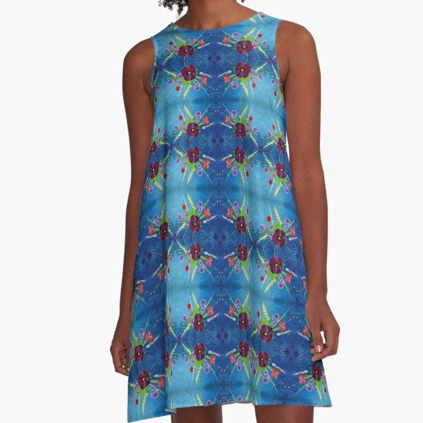 Viola Bouquet A-Line Dress