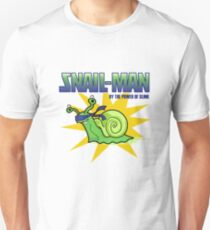 Snail-Man - by the Power of Slime T-Shirt