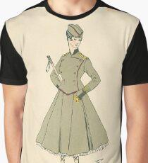 1917 French Postcard - La Serbie Graphic T-Shirt