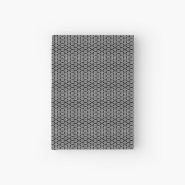 Motif noir et gris Carnet cartonné